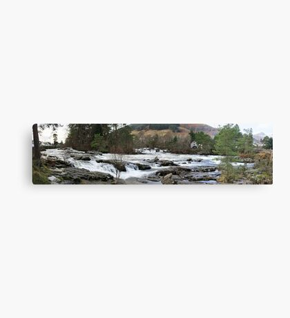 River Dochart Panorama Canvas Print