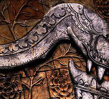 Stonework mural, Australia Zoo by David James