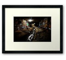 underworld part 1 Framed Print