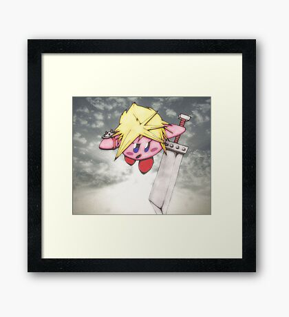 kirby strife Framed Print
