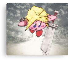 kirby strife Canvas Print