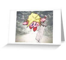 kirby strife Greeting Card