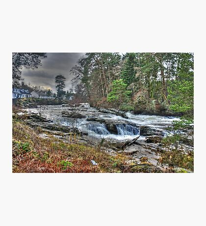 River Dochart Falls Photographic Print