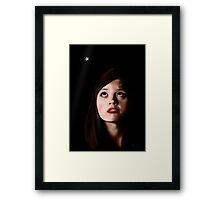 Clara's Tears...Missing the Doctor Framed Print