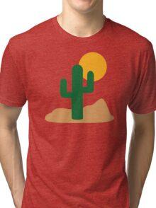 Cactus desert Tri-blend T-Shirt