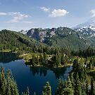 Eunice Lake - Mt. Rainier N. P. by Mark Heller
