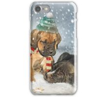 Waiting for Santa iPhone Case/Skin