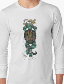 Life of a Teenage Turtle - Mikey Long Sleeve T-Shirt