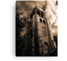 L'église de Saint Germain des Prés Canvas Print