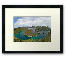 Bay of wonder Framed Print