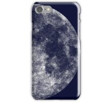 solid moon iPhone Case/Skin