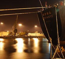 M.V. Orna Merchant Navy Vessel at Teesdock, Middlesbrough by hulldude30