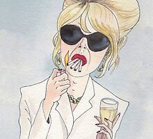 Patsy Stone of Absolutely Fabulous / Ab Fab by catshrine