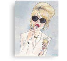 Patsy Stone of Absolutely Fabulous / Ab Fab Canvas Print