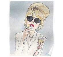 Patsy Stone of Absolutely Fabulous / Ab Fab Poster