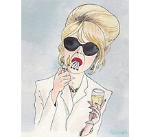 Patsy Stone of Absolutely Fabulous / Ab Fab Photographic Print