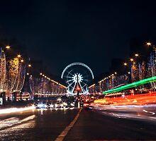 Joyeux Noël : Champs-Élysées, The Other Side by Austen Risolvato