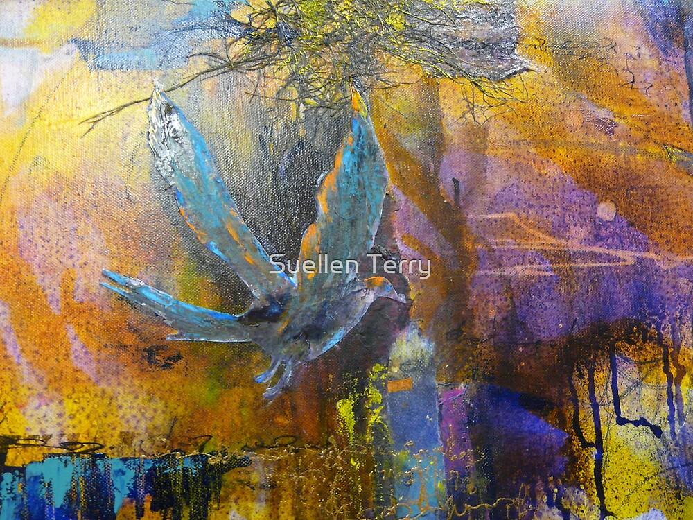 ravens poem by Suellen Terry