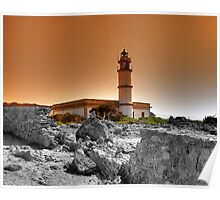 Majorca Lighthouses Poster