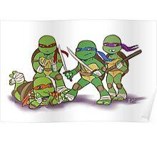 Little Mutant Ninja Turtles Poster