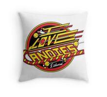 I love Candies! by lilterra.com Throw Pillow