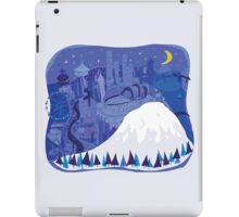 Seattle Cityscape with Mt. Rainier by Wendy Wahman iPad Case/Skin
