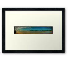 Wandering Beach Framed Print