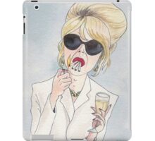 Patsy Stone of Absolutely Fabulous / Ab Fab iPad Case/Skin