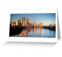 Brisbane - Queensland - Australia Greeting Card