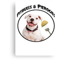 Pitbulls & Pierogies Canvas Print