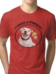 Pitbulls & Pierogies Tri-blend T-Shirt