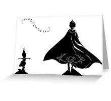Elsagann Greeting Card