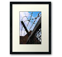 Barbed Sky Framed Print
