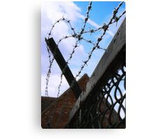 Barbed Sky Canvas Print