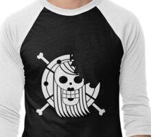 Bonney Pirates Jolly Roger Men's Baseball ¾ T-Shirt