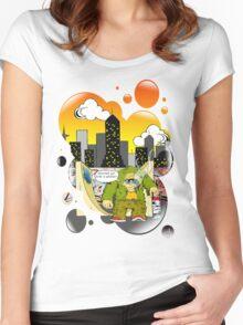 Sk8er Junki Women's Fitted Scoop T-Shirt