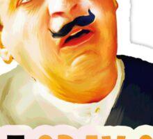 Hercule Poirot! little gray cells are not working today. Sticker