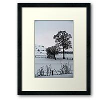 Winter Scene 1 Framed Print