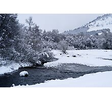 winter scene 2 Photographic Print