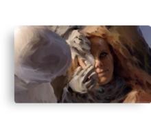 Yewll Patches Rynns Eye Canvas Print