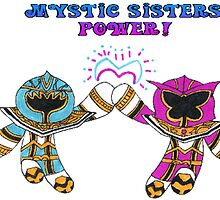 Mystic Force Sisters by nijibeat