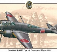 Mitsubishi Ki-46 III by A. Hermann
