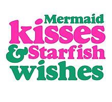 Mermaid kisses Photographic Print