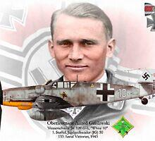 Oberleutnant Alfred Grislawski by A. Hermann