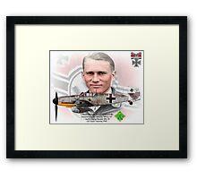 Oberleutnant Alfred Grislawski Framed Print