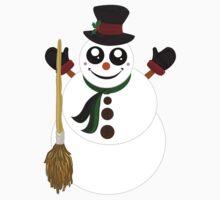Snowman (4) One Piece - Long Sleeve