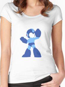 Megaman Vector Women's Fitted Scoop T-Shirt