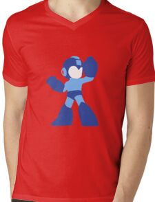 Megaman Vector Mens V-Neck T-Shirt