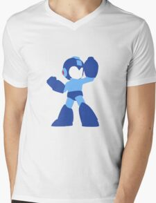 Megaman Vector Mens V-Neck T-Shirt