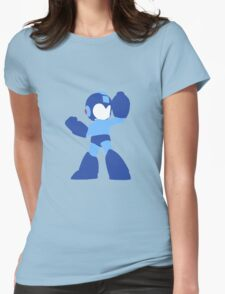 Megaman Vector Womens Fitted T-Shirt